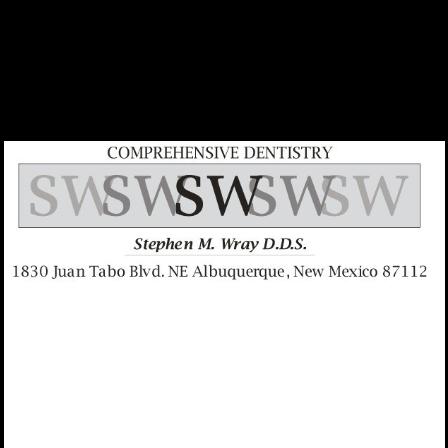 Dr. Stephen M Wray