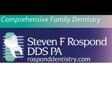 Dr. Steven F Rospond