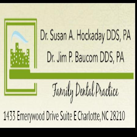 Dr. Susan A Hockaday
