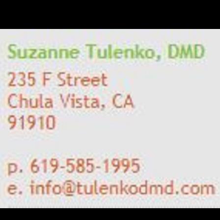 Dr. Suzanne B Tulenko