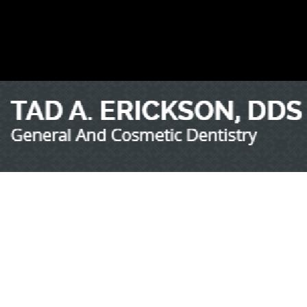 Dr. Tad A Erickson