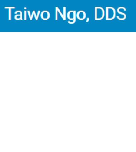 Dr. Taiwo Ngo