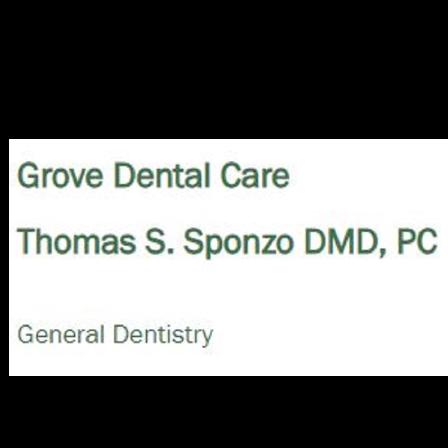 Dr. Thomas S Sponzo DMD
