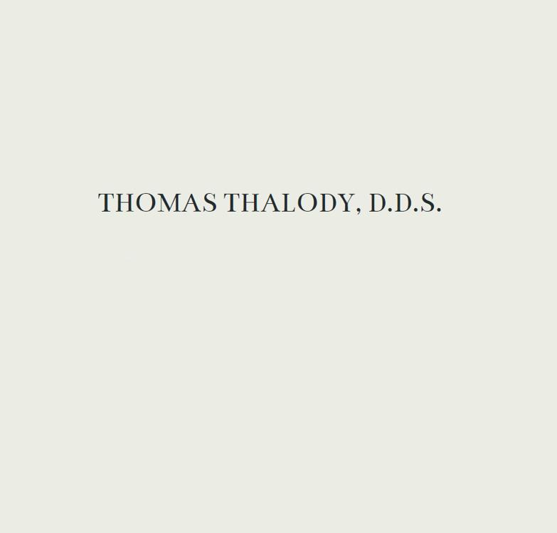 Dr. Thomas P Thalody