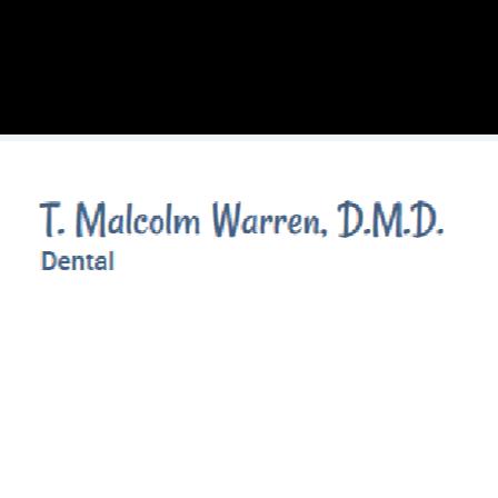 Dr. T. Malcolm Warren