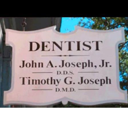 Dr. Timothy G Joseph