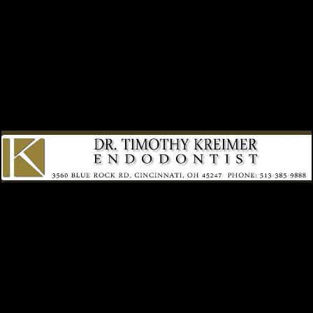 Dr. Timothy J Kreimer
