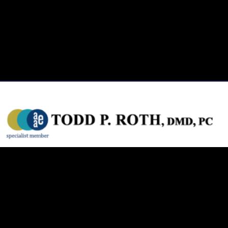 Dr. Todd P Roth