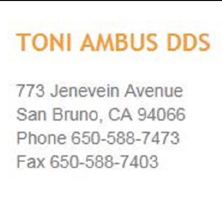 Dr. Toni Ambus