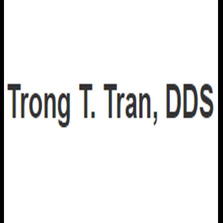 Dr. Trong T Tran