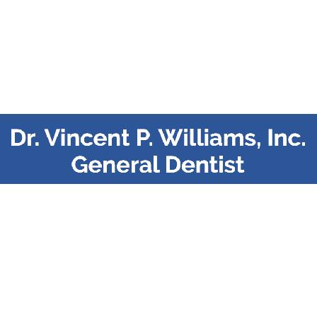 Dr. Vincent P Williams