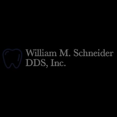 Dr. William M Schneider