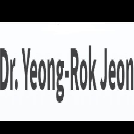 Dr. Yeong-Rok Jeon